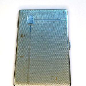1950's Sylvia Chrome Cigarette case.